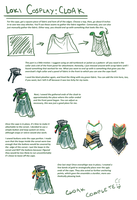 Loki cosplay guide: Cape by SirLadySketch