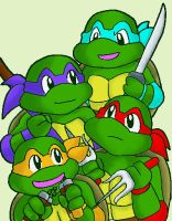 tmnt-the plan is.. by koju327