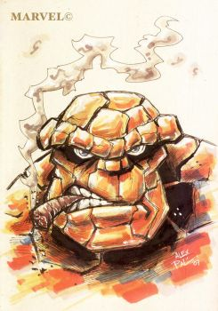 BEN GRIMM... 'THE THING' by alexpal