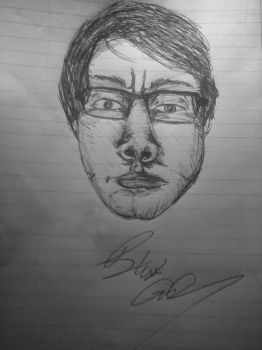 Self Potrait - Attempt #2 by blakeg14