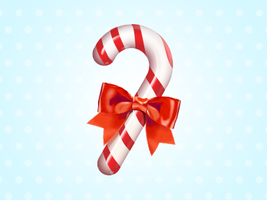 candy cane icon - free psd by nelutuinfo
