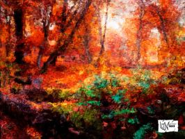 Autumn Forest by Pendragon1951