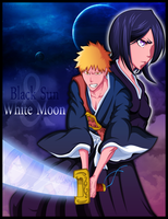 Black Sun, White moon by Azley