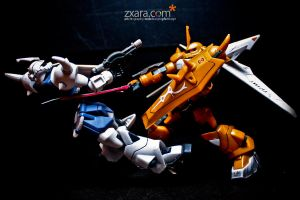 Gundam War 01 by zxara