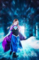 Frozen Anna Cosplay- Open doors by UnisonCosplayers