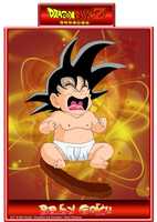 Baby Goku B by CHangopepe