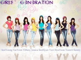 Girls' Generation SPAO 01 by ForeverK-PoPFan