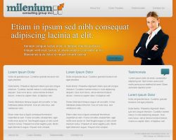 Milenium Consulting Mock by datamouse