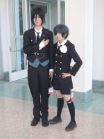 Sebastian and Ciel Cosplayers by stormx6