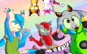 CE: Flimingow Wallpaper by Lucky-Puppy