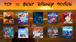 My Top 10 Favorite Disney Movies by JPLover764