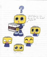 Servbot sketchs by rongs1234