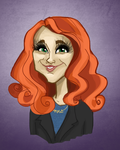 Maddy Caricature by broopimus