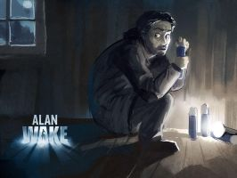 Alan Wake by Morriperkele