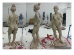 Lifesize Sculpture (wip) by crazyace7