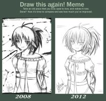 2008 vs 2012 by Kazenokaze