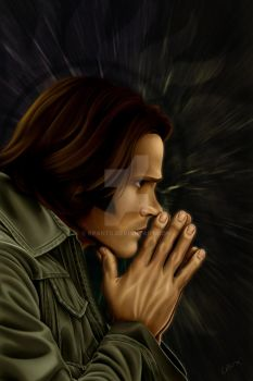 Supernatural - Sam Winchester by KPants