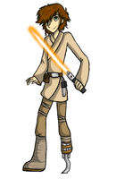 Hiccup is a Jedi by TheSweedishFish