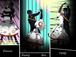 Dancing away the Time by TheRedDeathBringer