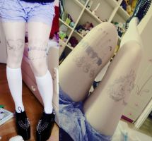 Tattoo tights by Ignis-ai