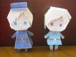 Sweden and Finland Paperdolls by UlquiorraJaggerjack