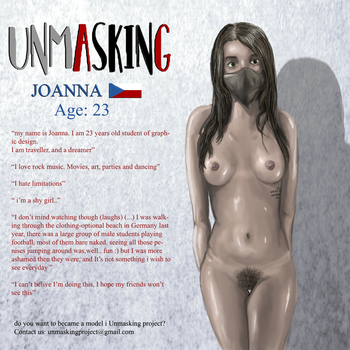Model: Joanna,  Front by unmasking-project