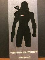 Mass Effect: FemShep Silhouette by JaneAwesome