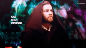 Star Wars Obi Wan Kenobi by HappinessIsMusic