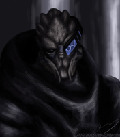 Garrus Speedpaint by Banni-Whitemane