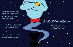 My tribute to Robin Williams by ImdaBatman