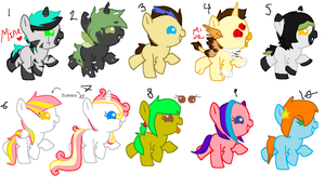 MLP Adopts -Open- by Team-RazorBlade