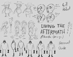 Living the Aftermath (Character Design) by UpcoRaul