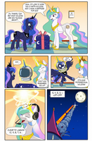 Princess Luna's Professional Holiday (part 1) by DarkCollaboration