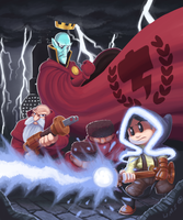 Legend of Magnets and Electricity - Teslagrad by WideMouthInk