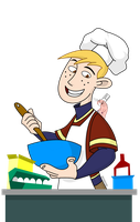 Ron Cooking 2 by hotrod2001