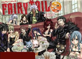 Fairy Tail Cover 312 by KhalSalamander