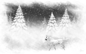 Of Silence and Snow by psychopony