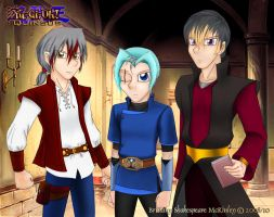 Quinsus - D. Knights Unarmored by RoseDuelistBBSHM