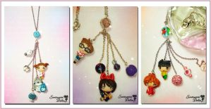 Studio Ghibli Necklace Collection I by SentimentalDolliez