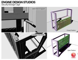 Screen Shots for Studio Security Cage by aMorle