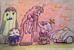 Daily Sketch 45- Candy Dignitaries by TheAlienBanana
