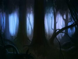 Dark Forest by XRayTheClown