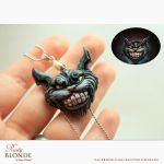 Cheshire Cat (Alice:Madness Returns) pendant by imge