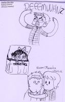 Supernormal Doodles by Strabius