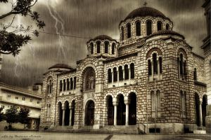 Greek Church by dikoxx