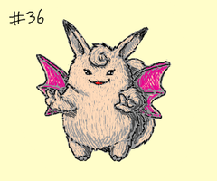 Clefable by eys123
