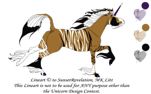 Unicorn Design Contest Entry by sparkpaw