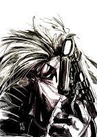 Grifter Warming up sketch by Fpeniche