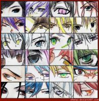 Anime Eyes Collection by eftela