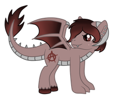 OC: Red Rum the Longma by SilverRomance